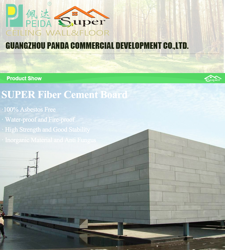 4x8 25mm Fiber Cement Board [Super Deal]