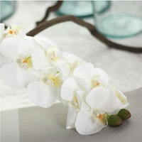 Gift ideas for birthday gift artificial orchid flower decorative flowers for sale