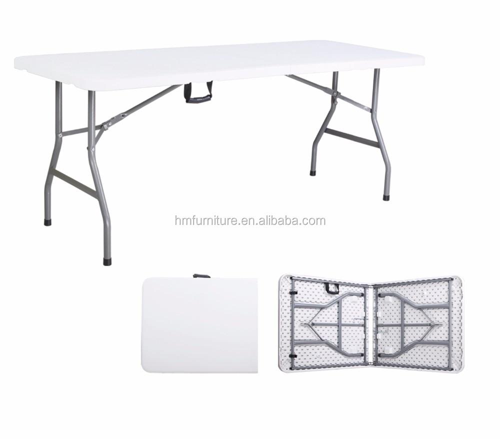 Mesa Plegable De 6 Pies Buy Plastic Folding Table Foldable Table Camping Table Product On Alibaba Com