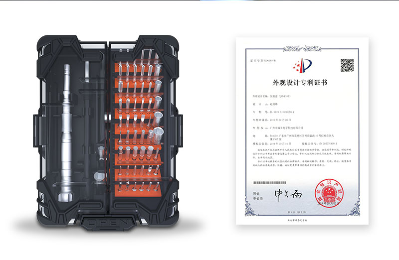 JAKEMY New Product JM-8163 62 IN 1 Precise S-2 Screwdriver Set with Unique Open Button for Home Electronics DIY Repair