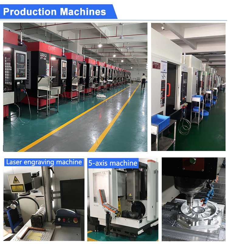High Quality CNC machining Parts Rapid Prototyping Service  cnc milling service