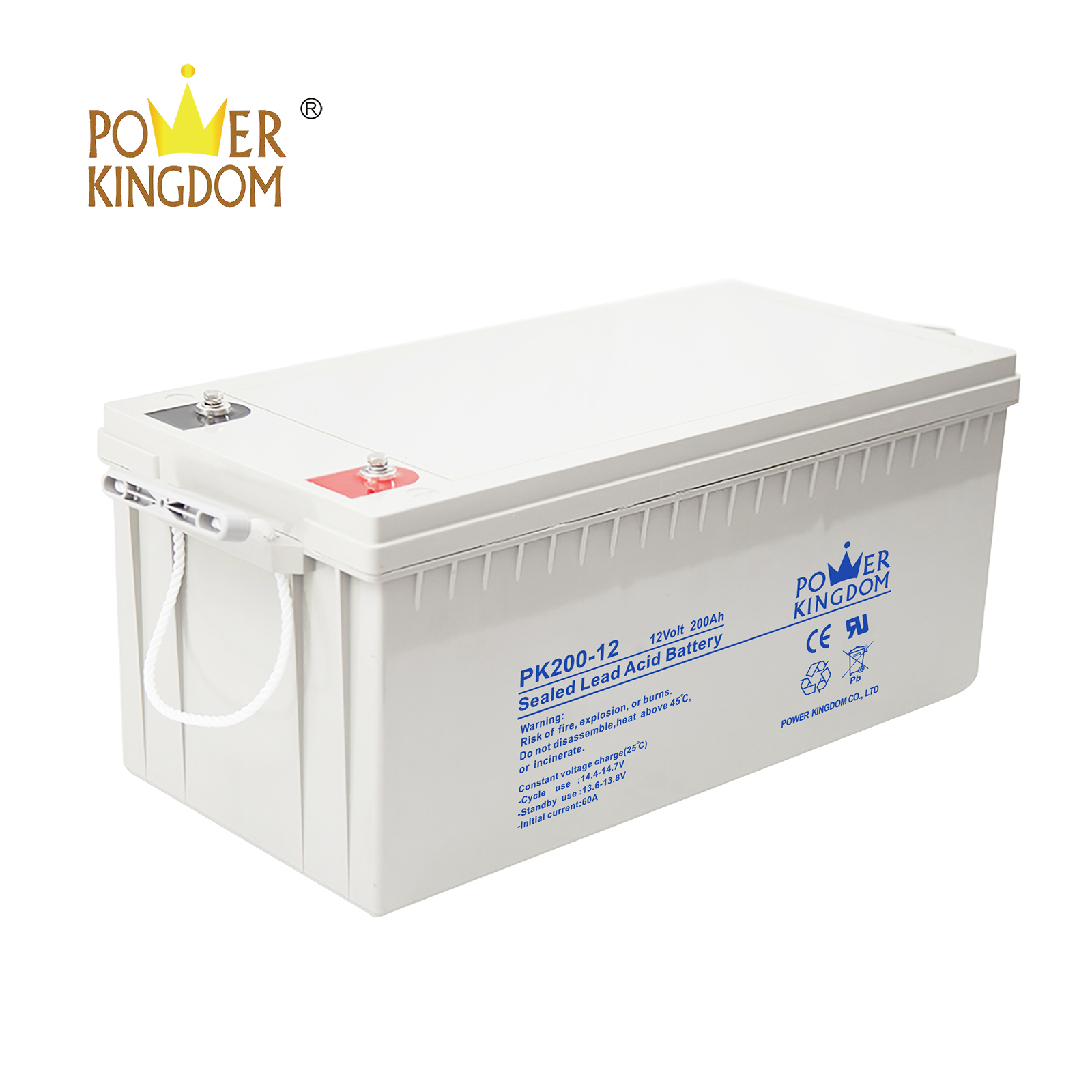 Power Kingdom group 49 agm battery factory price Power tools-3