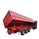 Trailer Electric Electric Trailer Side Dump Semi Trailer With Electric Tarpaulin Can Choose