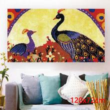 Декоративные ковровые наборы, все для ручной работы, для украшения стен, для рукоделия, пуговица, посылка(Китай)