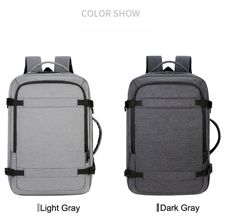 Wholesales Outdoor Packs Large Capacity Latop Bags Oxford Waterproof Backpack with USB Charging