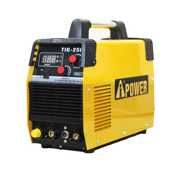 portable Aipower inverter ac dc tig welder with foot pedal