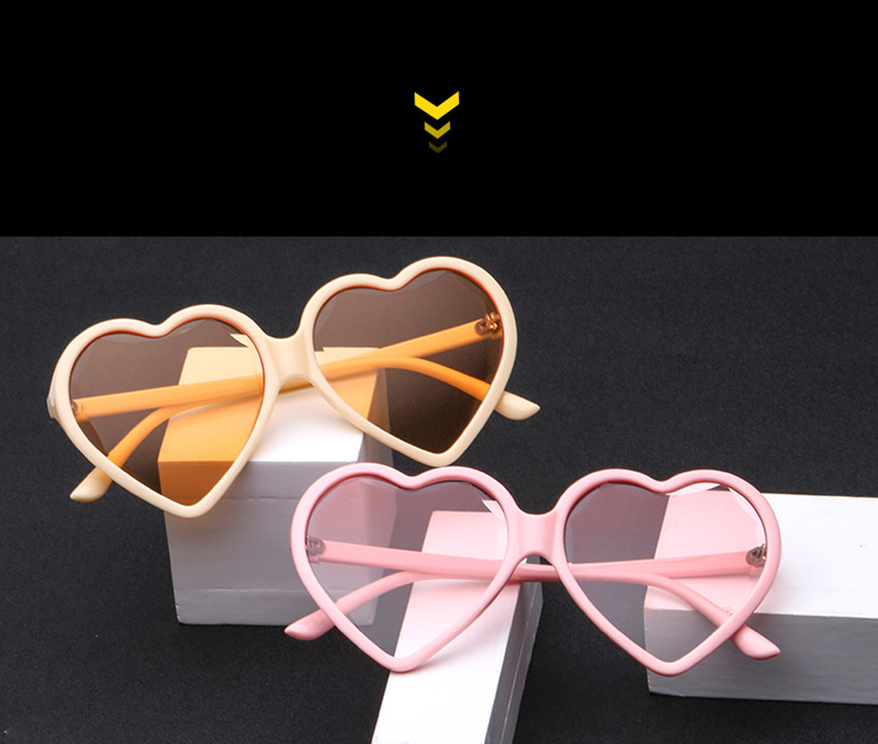 Vintage Sunglasses China Manufacturing Women Heart Flower Sun Glasses
