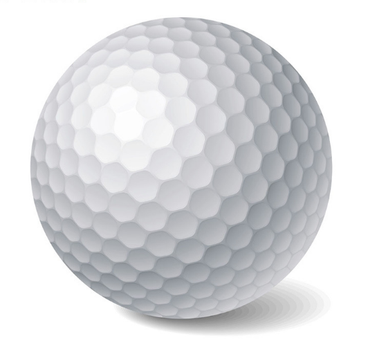 Factory direct price OEM white Polyurethane 2 piece golf tournament ball