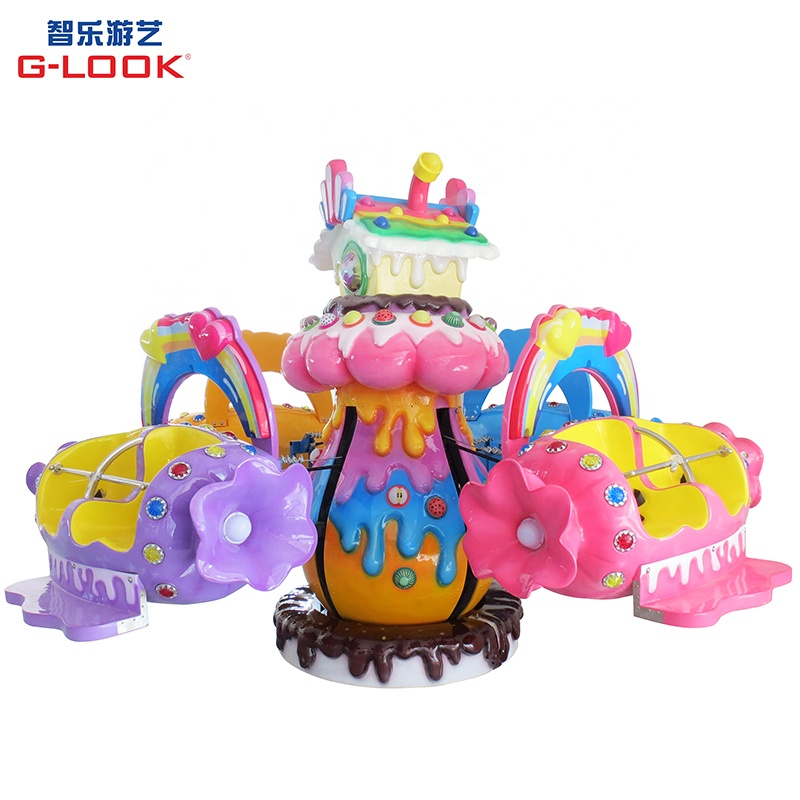 Candy house rotating plane park rides wholesale toy amusement park rides