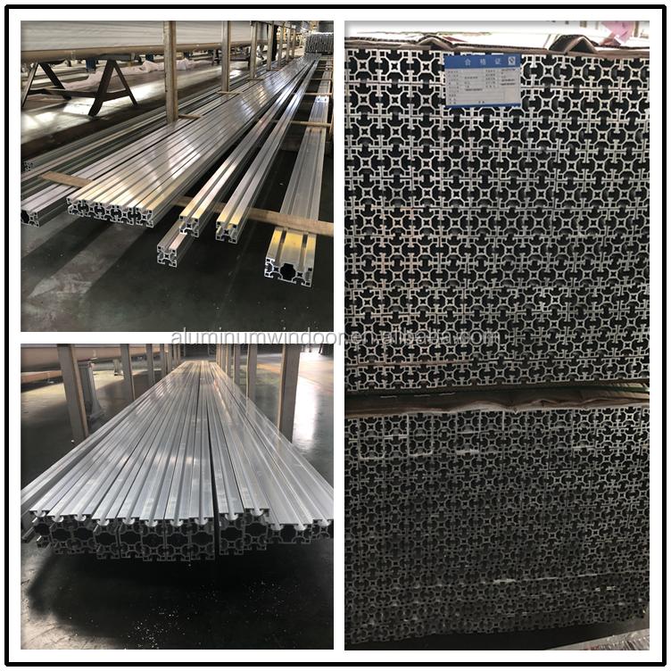Endüstriyel alüminyum ekstrüzyon profili 90 derece alüminyum profil bağlantı parçaları
