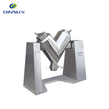 V-500 Lab V Type Food Pharmaceutical Powder Mixer Machine