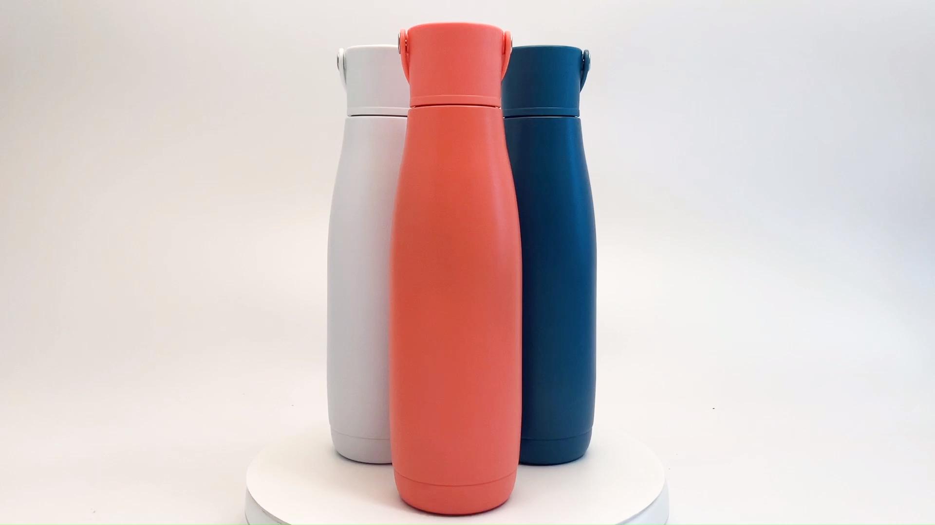 Leak Proof Powder Coating Triple Wall Vacuum Flask Stainless Steel Insulated Water Bottle