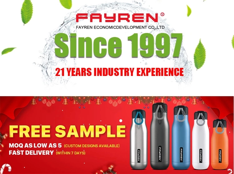 FAYREN 2020 most popular silicone water bottle folding into small size with good price