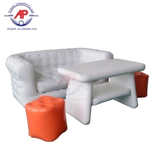 Berkemah Pesta Inflatable Furniture Sofa Udara Meja dan Kursi