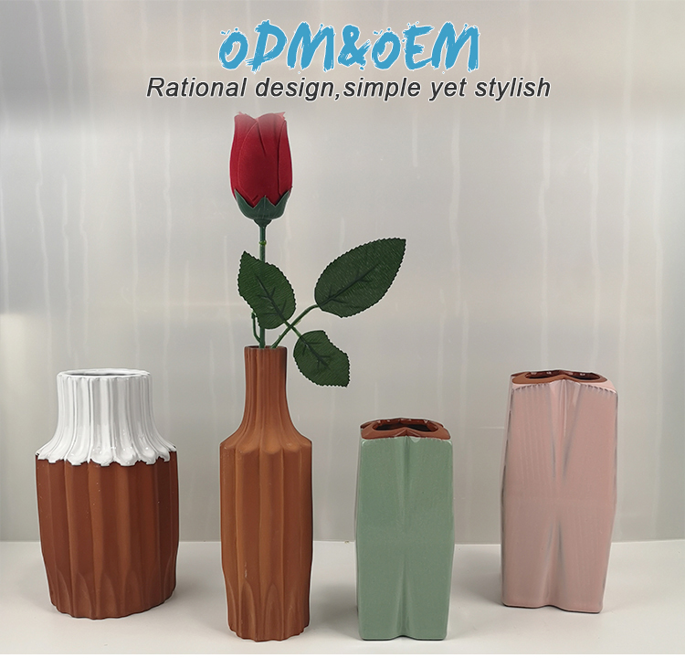 Classic chinese cheap home living room table flower vases decoration home
