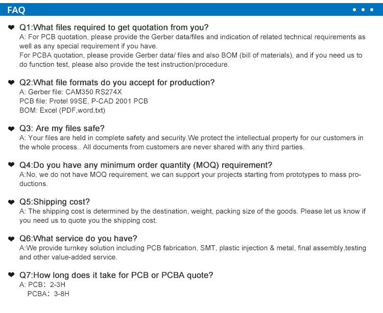 Mavi lehim HDI anakart PCBA meclisi