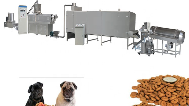 Automatic Good Quality Pet Food Manufacture Plant Line Equipment Machinery
