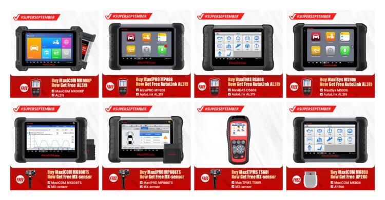 Best automotive OBD2 car diagnostic scanner tool Autel MaxiCOM MK808 with full system diagnose