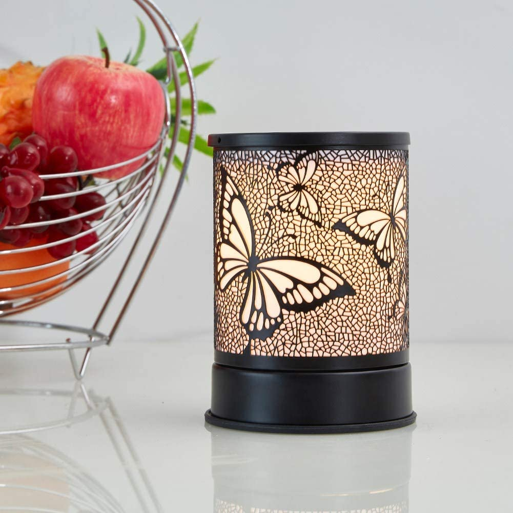 Cheap Metal Branch Oil Burner Electric Incense Oil Warmer Essential Oil Diffuser Wholesale Electric Candle Warmer Lamp
