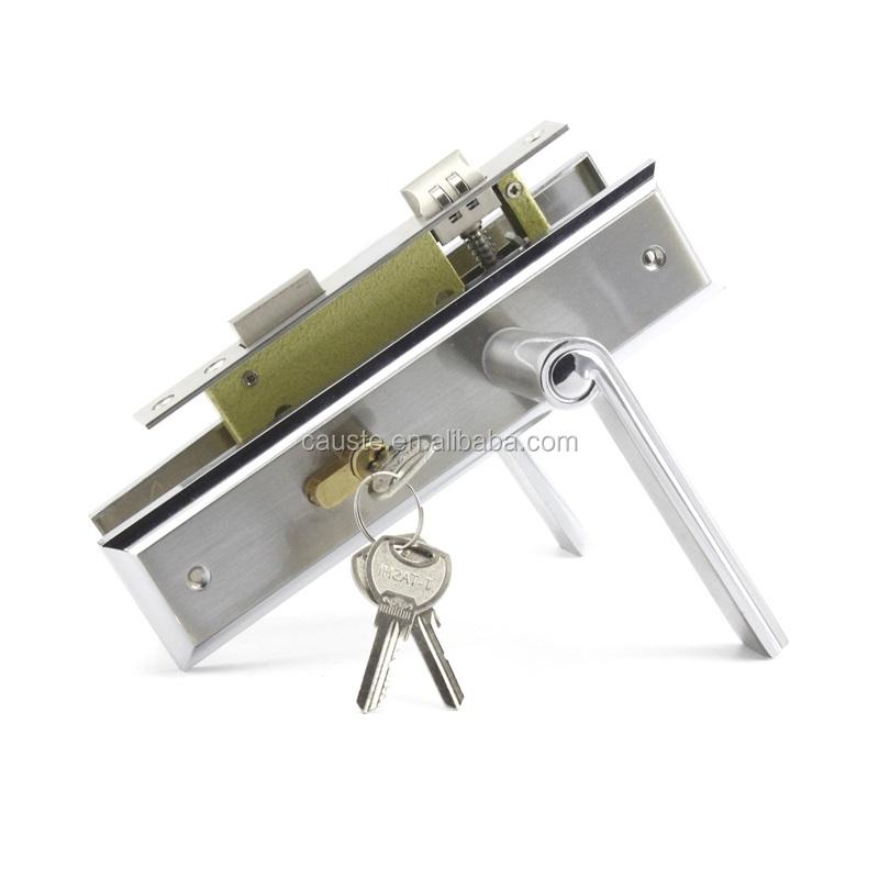 Entrée poignées de porte intérieures robuste roulement machine serrure de porte poignée