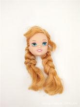 2019 новый 2 стиль Оригинальная кукла голова/кукла аксессуары для DIY косплей куклы-Барби подарок игрушки для девочек(Китай)