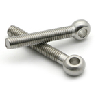 DIN444 Stainless Steel Lifting Eyelet Bolt Flat Galvanized Eye Bolt With Pin