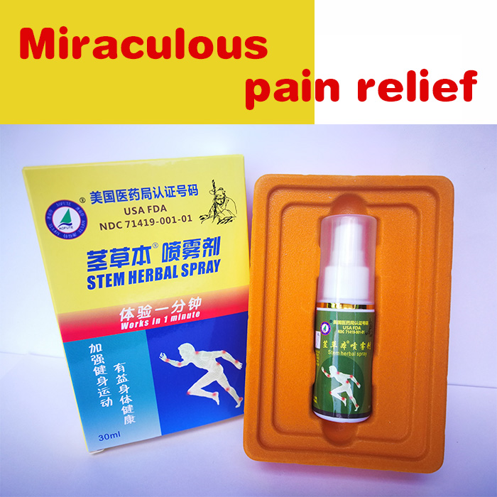 Chinese medical Magic spray for pain relier