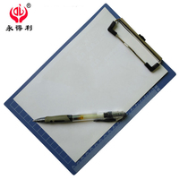 Wholesale office plastic professional A5 writing clip board