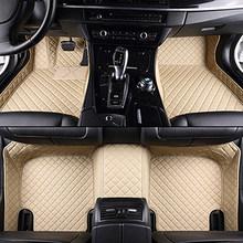 Автомобильные коврики для mitsubishi outlander xl pajero 4 sport lancer grandis galant asx, автомобильные кожаные коврики, автомобильные аксессуары на заказ(Китай)