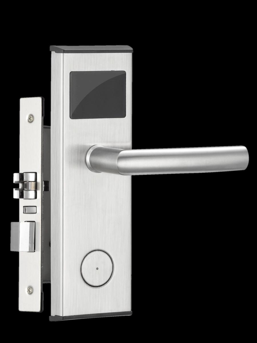 RF Pembaca Kartu Kunci Rfid Pintu Kayu Cerdas, Sistem Pengunci Pintu Kayu Tanpa Kunci Harga Elektronik Pabrikan Digital Pintu Pintar Kunci Hotel