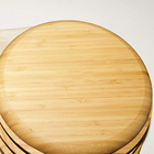 Wholesale Japanese Style Natural Bamboo Wood Plates   Dishes Set for Soy Sause Sushi Salad Serving
