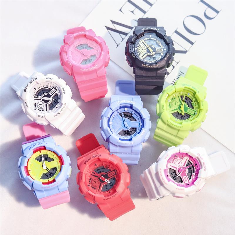 Цифровые часы Shock Мужские Аналоговые кварцевые цифровые электронные часы мужские G стильные водонепроницаемые пластиковые спортивные часы