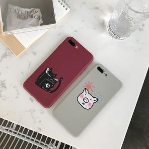 Soft Phone Back Cover Silicon Phone Case For Xiaomi Redmi7 7A 6A Note 5 6 7 Pro 8 Pro 9 Mi 9 SE 9T Pro t Mi 8 A2 Lite Mi A3 Mi9