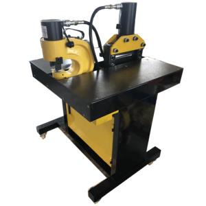 Copper/aluminum busbar processing machine/hydraulic busbar processor