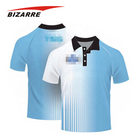 Wholesale Custom Sublimation Breathable Men Polo Coolmax Golf Shirts
