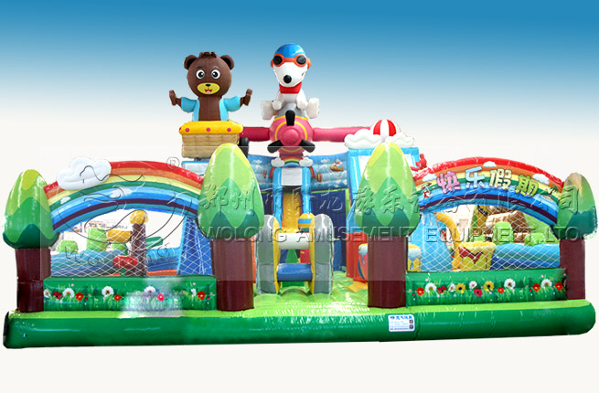Inflatable giant เด็กผู้ใหญ่เล่นปราสาทกันน้ำ bouncer inflatable กระโดด bouncer