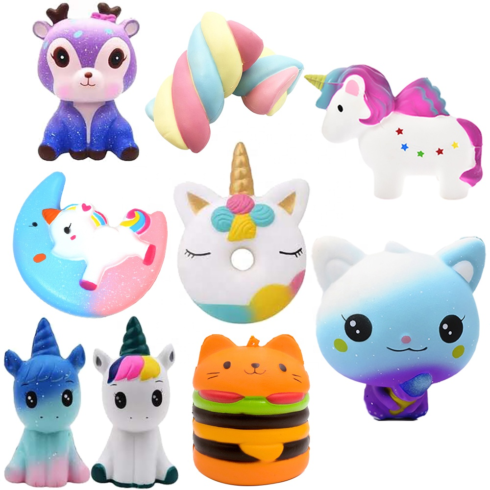 High Quality China Factory Wholesale Kawaii Pu Foam Slow Rebound Squeeze <strong>Toy</strong> Jumbo Slow Rising Scented Cute Squishy