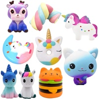 High Quality China Factory Wholesale Kawaii Pu Foam Slow Rebound Squeeze Toy Jumbo Slow Rising Scented Cute Squishy