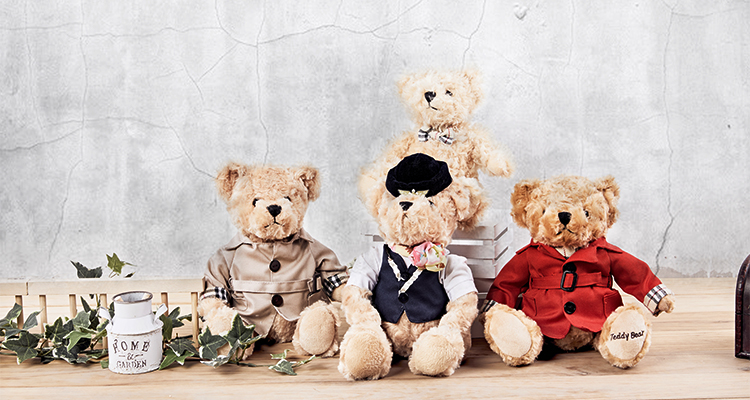 High Quality Customized Teddy Bear  In Bulk Baby Teddy Bear Toy With Clothes