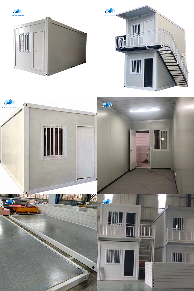 module prefabricated shed 20 foot 40 foot homes prefab steel frame earthquake proof shipping cnotainer broiler house in pakista