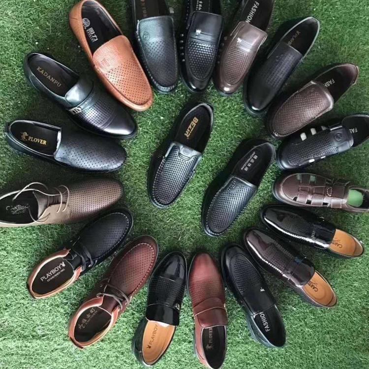 2020 wholesale men leather shoes New design fashion comfortable mens shoes