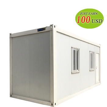 Good Quality Insulated Strong Build Real Estate Container House Design