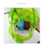 Colorful Rainbow Jelly Pvc Beach Bag Backpack