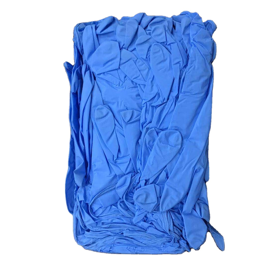 Made in China Powder Free Disposable Medical Examination Nitrile Gloves Price List