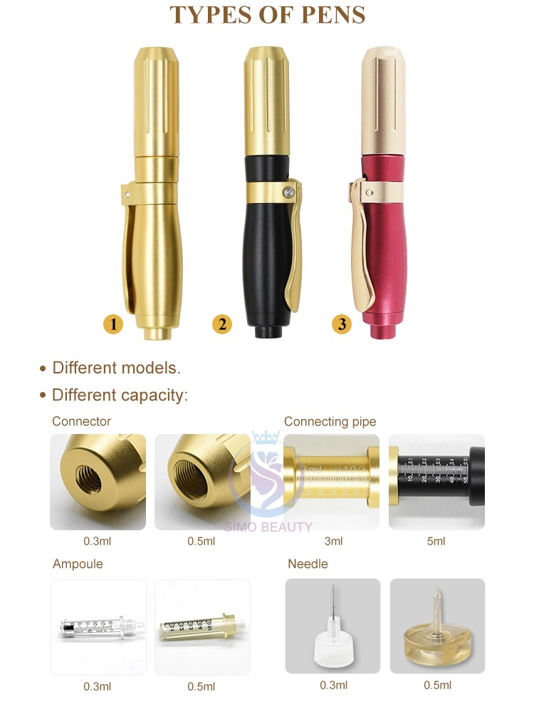 New 0.5ml high pressure hyaluronic pen