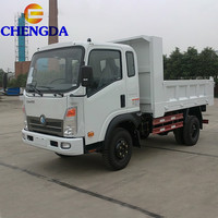 Sinotruck 4X2 5 tons small Light mini Truck Small Lorry with low price