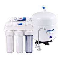 reverse osmosis systems in water filter with uv