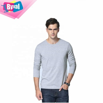 cheap china wholesale clothing sports t-shirt for man t shirt blank long sleeve t shirt for men in bulk custom OEM