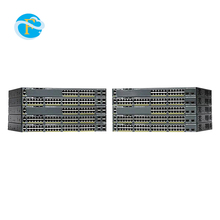 Portas Gigabit Ethernet Switch Cisco-Catalisador 2960X-24TS-L 24 WS-C2960X-24TS-L
