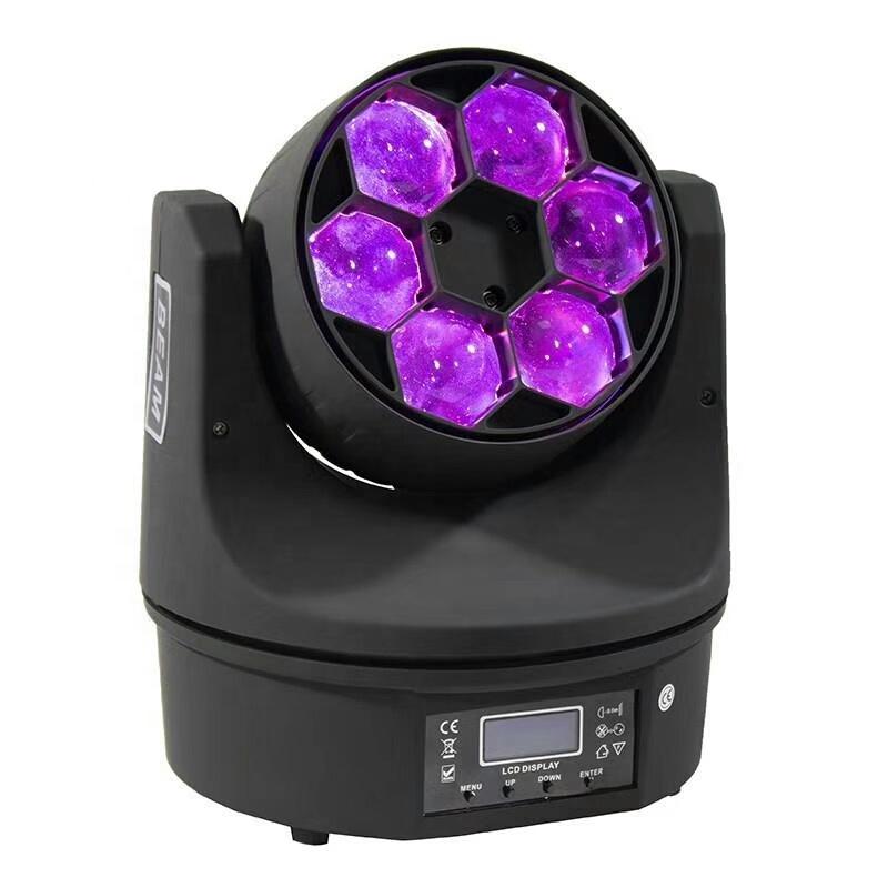 BALME0641 Mini Bee Eye 6ps 12w LED RGBW 4 in 1 disco moving head professional light